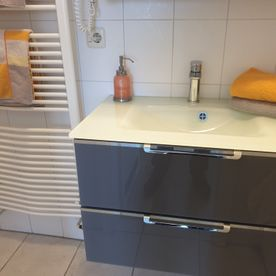 Hotel Waterkant - Dusche, WC, Bad